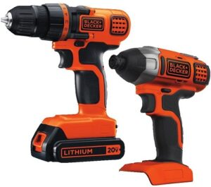 BLACK+DECKER 20V MAX Drill Driver Combo Kit